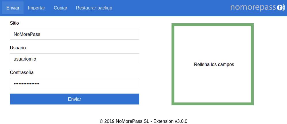 Nuevas funcionalidades en la extensión del navegador
